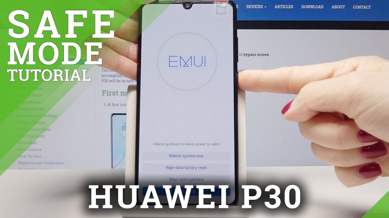 Safe Mode In Huawei P30 Enter Quit Safe Mode Youtube