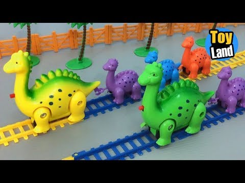 Dinosaur Train Toys Kids Video Funny Track Set for Kids TOYLAND