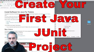 Create a Project and write your first test in Java with IntelliJ
