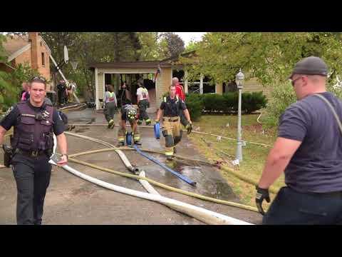 Glen Ellyn house fire