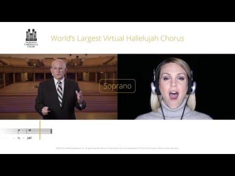 Soprano Part for #Hallelujah Virtual Choir - Mormon Tabernacle Choir