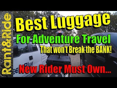 Best Inexpensive Dual Sport Adventure Luggage for New Riders
