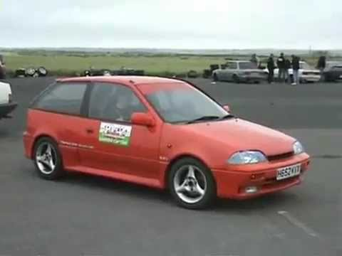 suzuki swift gti 140 bhp vs 300 bhp skyline youtube. Black Bedroom Furniture Sets. Home Design Ideas