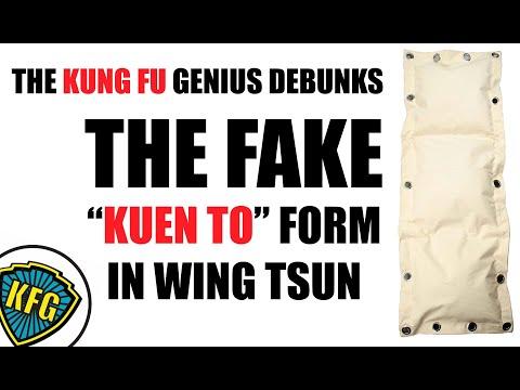 """DEBUNKED! Fake """"Kuen To"""" Wing Tsun Form   Kung Fu Genius Episode 4"""