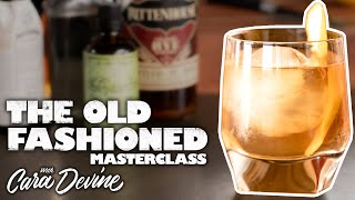 How to make a deli¢ious Old Fashioned cocktail - Masterclass