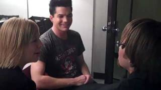 Adam Lambert Fan Interview