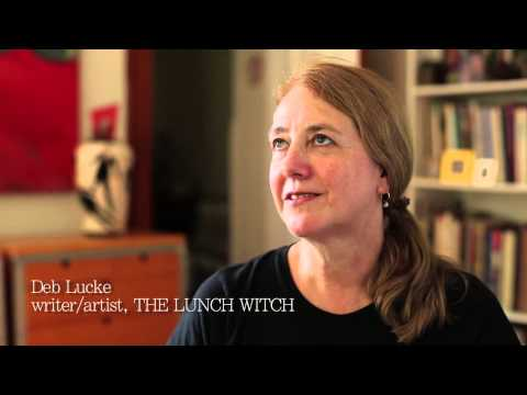 Making Graphic Novels - THE LUNCH WITCH'S Deb Lucke