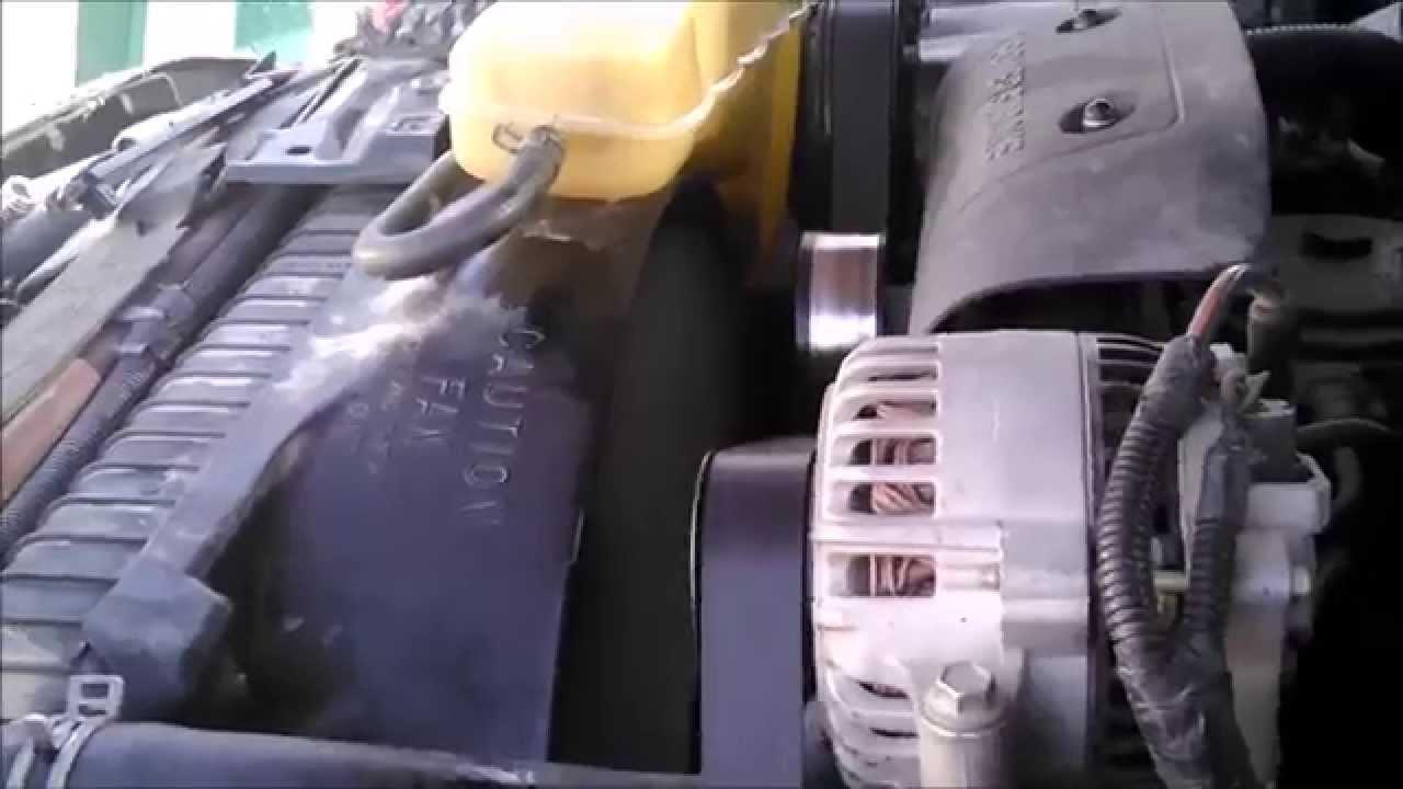 fan clutch replacement 2000 f350 7 3 powerstroke turbo diesel youtube [ 1280 x 720 Pixel ]
