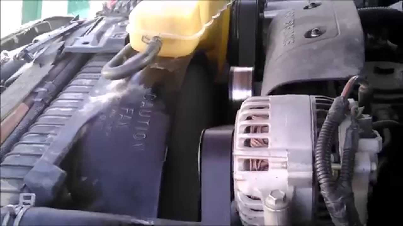 hight resolution of fan clutch replacement 2000 f350 7 3 powerstroke turbo diesel youtube