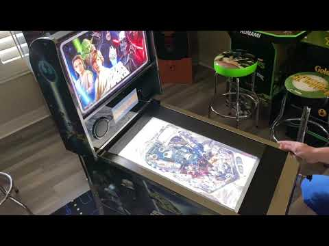 Star Wars Pinball Arcade1up The Force Awakens: Extended Gameplay from Kelsalls Arcade