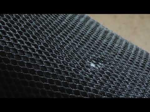 3D сетка и износ кожи сидения мотоцикла Bajaj Boxer.