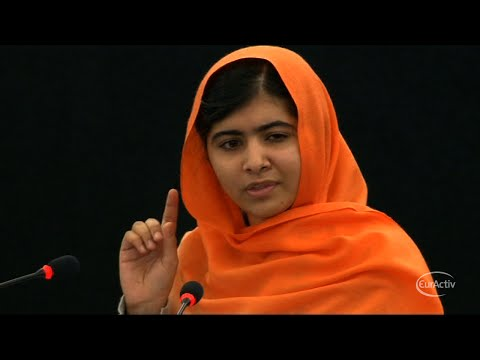 EU Congratulates Nobel Prize Winner Malala Yousafzai