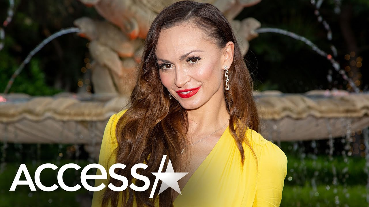 'Dancing With The Stars' Alum Karina Smirnoff Welcomes Her First Baby