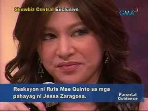Rufa Mae Quinto VS. Jessa Zaragosa @ Showbiz Central