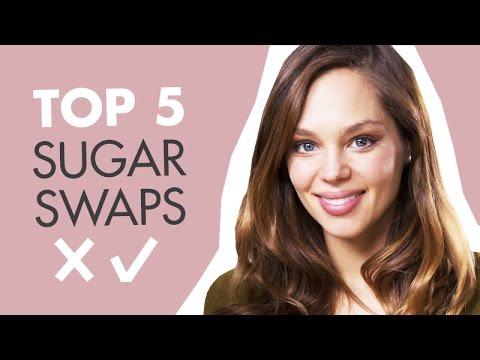 TOP 5 SUGAR SWAPS: How To Eat Less Sugar | Danielle Hayley