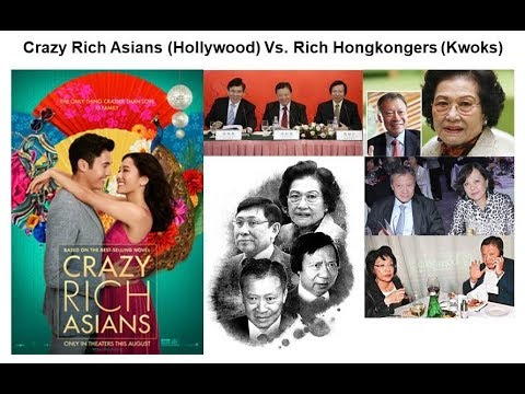 Hollywood Happy Ending Doesn't Happen. Crazy Rich Asians Vs. Rich Hongkongers