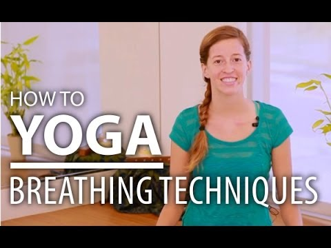 Yoga for Beginners - Breathing Techniques. Easy Relaxing Yoga.