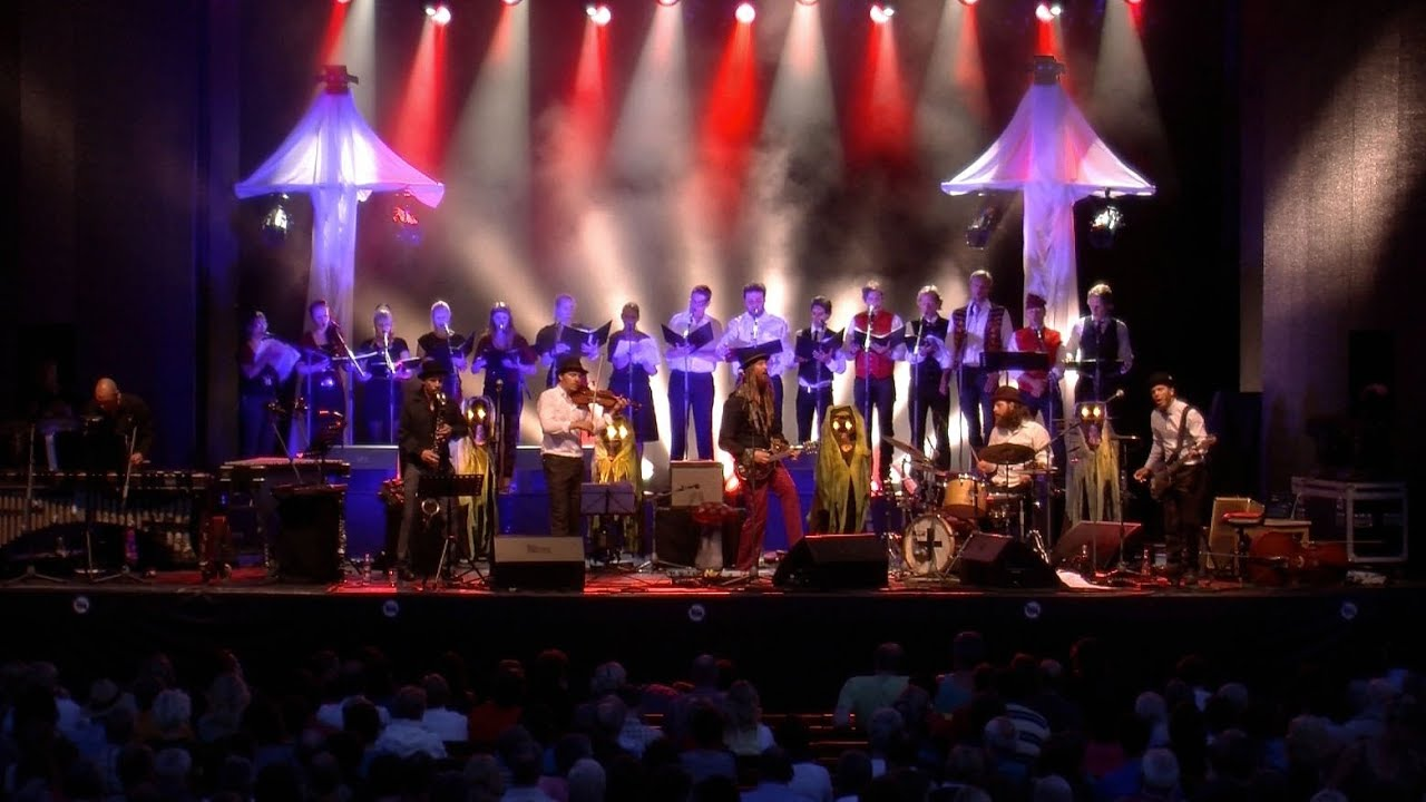 Afenginn feat Mpiri: Choirnevale (live video 2013, Jena - Germany)