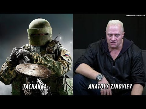 Rainbow Six Siege - Characters Voice Actors