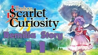 Touhou Scarlet Curiosity Walkthrough Gameplay Part 11 - English - PS4 Remilia Story - Geyser
