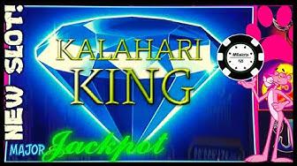 NEW SLOT! HIGH LIMIT Pink Panther Kalahari King HANDPAY MAJOR JACKPOT ⭐️$25 BONUS ROUND Slot Machine