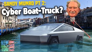 Sandy Munro Can Make The Cybertruck Float | In Depth
