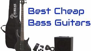5 Best cheap bass guitars 2017 | Best BASS for the Price #BassGuitars