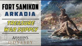 Fort Samikon, Arkadia   Loot Treasure & War Supply Location   ASSASSIN