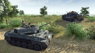 1944 US Tanks & British Armor Liberate Normandy | Men of War: Assault Squad 2 Gameplay