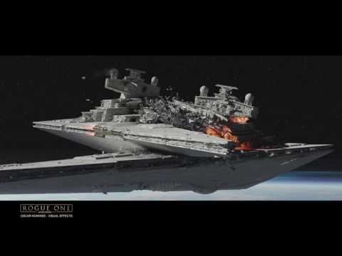 Watch how ILM created Rogue One's beautiful space battles