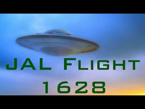 Japanese Airlines JAL Flight 1628 UFO
