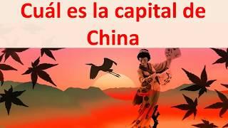 cual es la capital de China