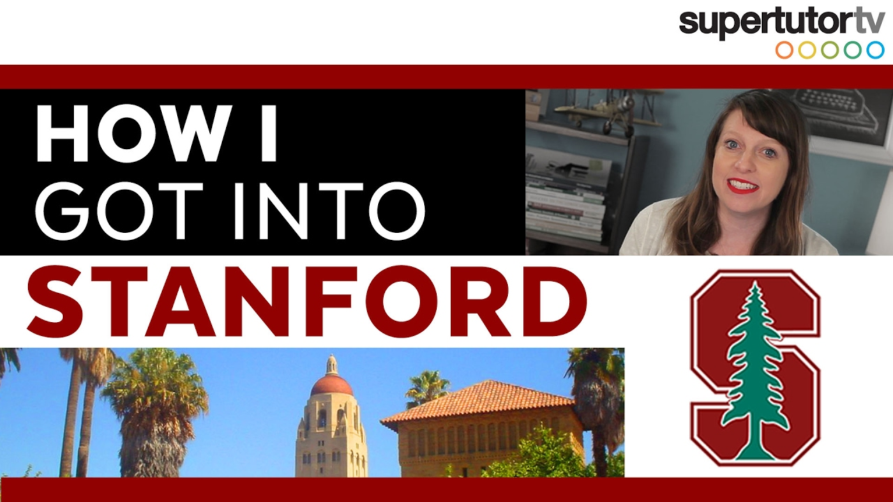 how i got into stanford supertutor tv