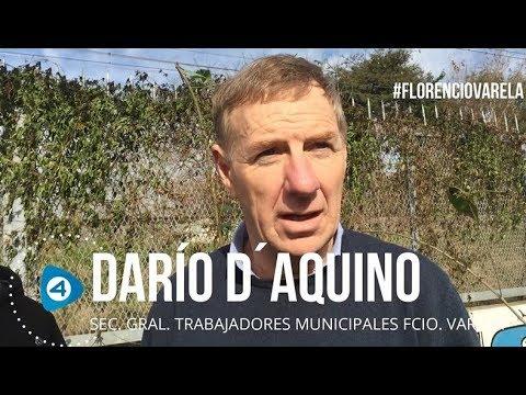 Florencio Varela: Darío D´Aquino reafirmó su compromiso con el cuidado del medio ambiente