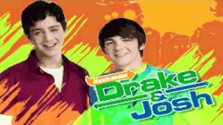 Drake and Josh (GBA) Title Screen