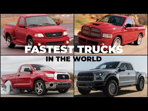 Top 10 Fastest Production Pickup Trucks In The World