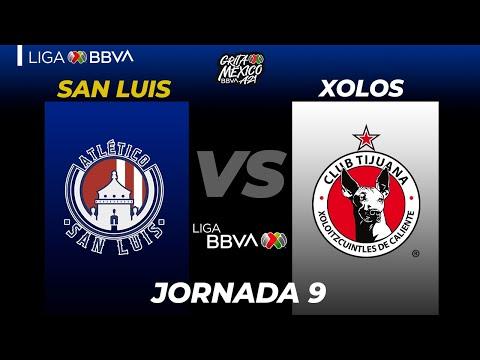 San Luis Club Tijuana Goals And Highlights