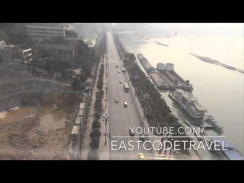 Yangtze river cable car  Chongqing city