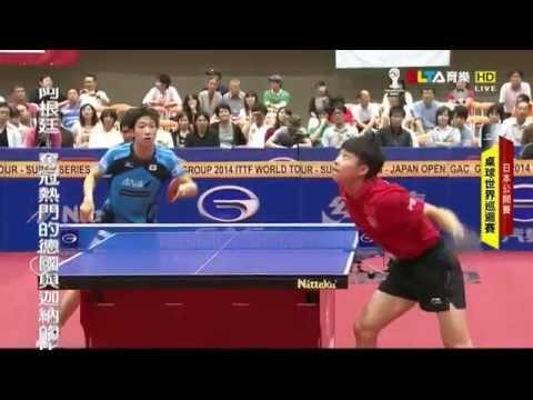 2014 Japan Open (ms-final) MIZUTANI Jun - YU Ziyang [HD] [Full Match/Chinese]