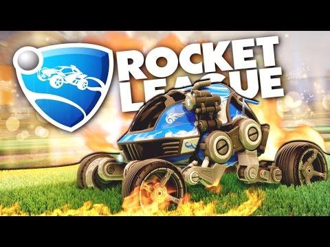 Rocket League - Футбол на луноходе! (Обнова)