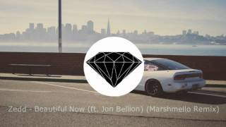 Скачать Zedd Beautiful Now Ft Jon Bellion Marshmello Remix