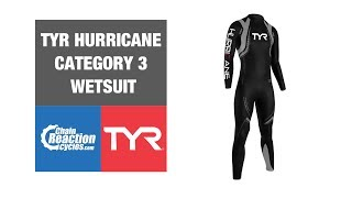 TYR Hurricane wetsuit C3