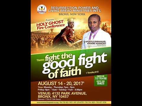 REPLIB NY, HOLY GHOST FIRE CONFERENCE 2017, DAY 5, 08/18/17 CONT.