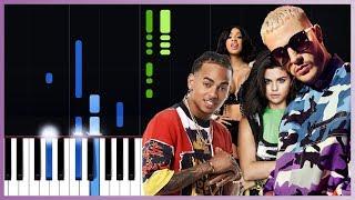DJ Snake feat Selena Gomez, Ozuna  Cardi - Taki Taki  Piano Tutorial