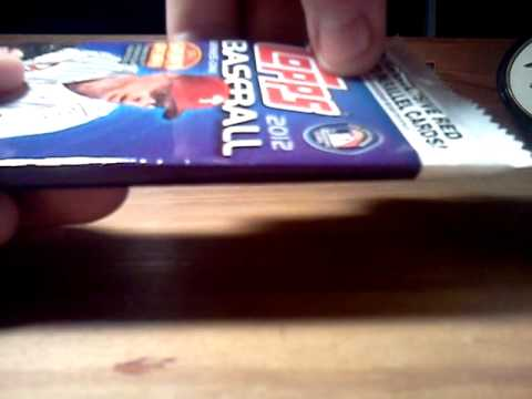 How To Pack Search 2012 Topps Baseball Series 1