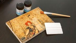 DIY: Foto auf Holz übertragen mit Foto Potch Transferset