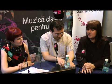 Laura Buruiana si Ferenc Vizi la Interviurile Radio Romania Muzical