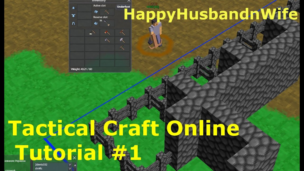 Tactical Craft Online Tutorial 1 Youtube
