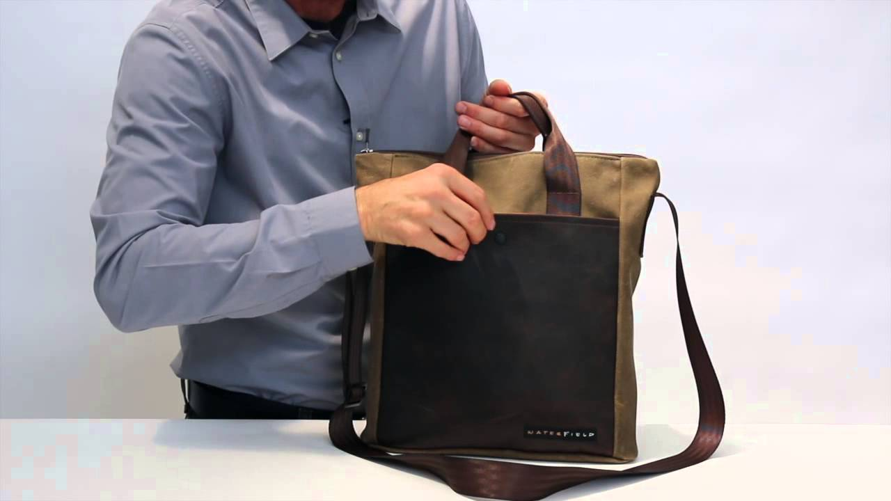 4b855593e030 VertiGo 2 0 Laptop Bag by WaterField Designs - YouTube