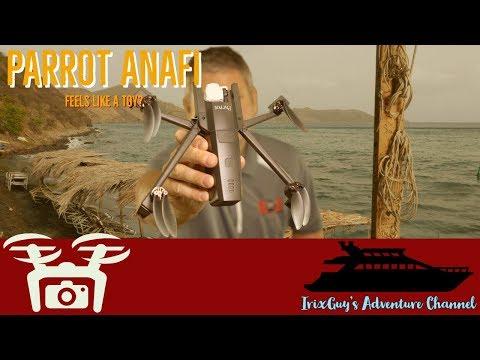 Repeat Parrot Anafi - Range Test FCC 3200m under the rain